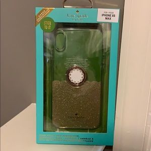 Kate Spade IPhone XS Max Case **USED ONCE**